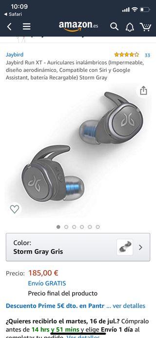 Auriculares run xt