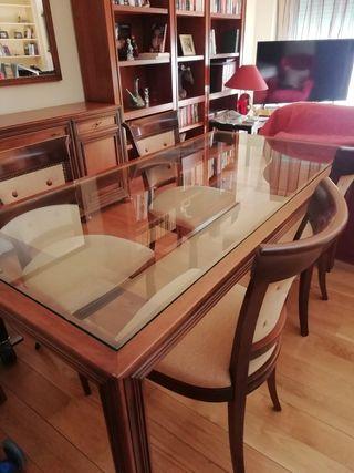 mesa comedor y 4sillas