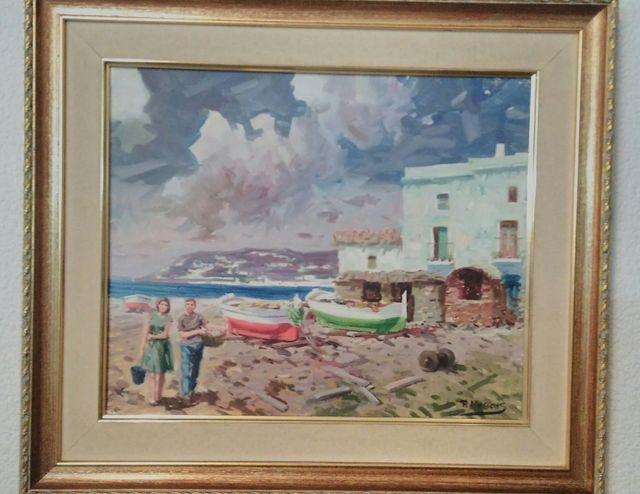 Cuadro marinero, vintage. R. Mussons