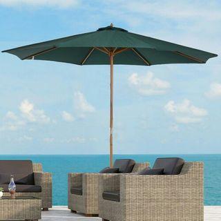 Sombrilla Parasol para Terraza Playa Jardín Piscin