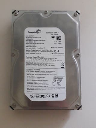 Disco duro sata 200gb