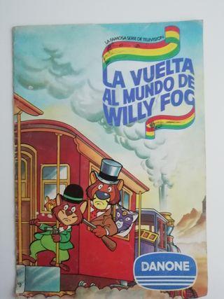 album de cromos Willy fog