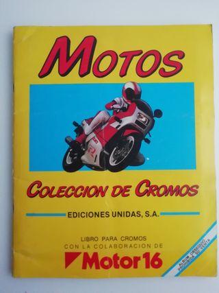 album de cromos, Motos Motor 16