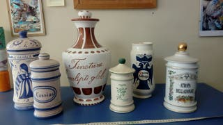ceramica decorativa farmacia,lote