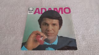 """VINILO 45"""" - ADAMO."""