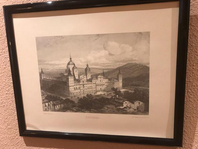 Cuadros conjunto de 4 láminas de ciudades España