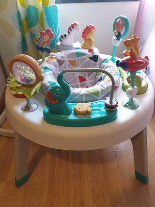 centro de actividades para bebé 2 en 1 fisher-pric