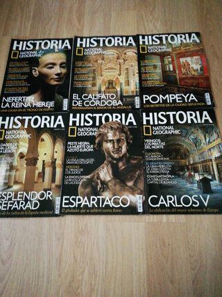 6 Revistas National Geographic