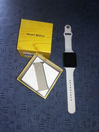 reloj smart watch blanco