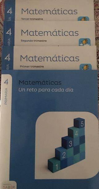 MATEMATICAS 4 PRIMARIA SABER HACER 9788483056097