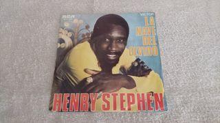 """VINILO 45 """" - HENRY STEPHEN."""