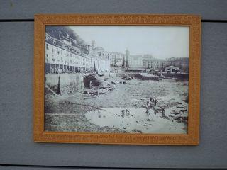 Cuadro antigua bajamar en el puerto donostiarra 2.