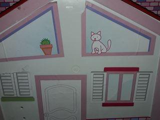casa barriguita con muñecos de +