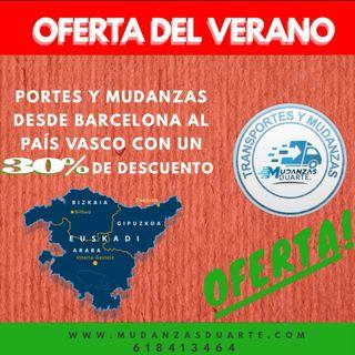 ¡¡Transportes a Euskadi a mitad de precio!!