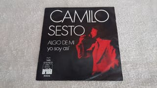 "VINILO 45 "" - CAMILO SESTO."