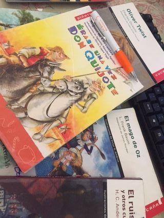 6 libros infantiles de lectura ED. VICENS VIVES