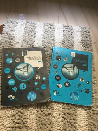 Libros matematicas 1 bachillerato