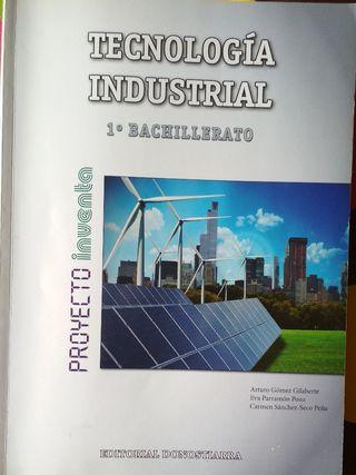 Libro Tecnología Industrial 1º Bachillerato