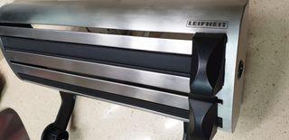 Dispensador de aluminio, papel y Plastico