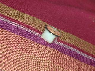 anillo de plata hombre
