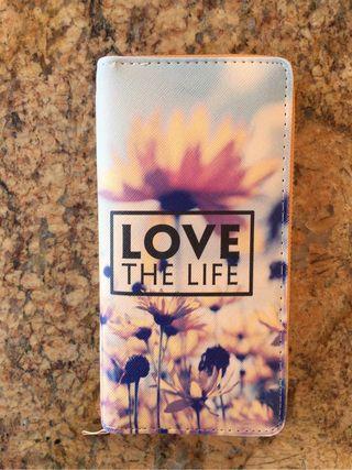 "Cartera ""Love the life"""