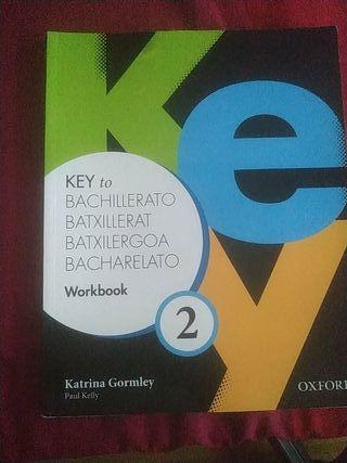 Libro Inglés 2°Bachillerato Key to Bachillerato 2