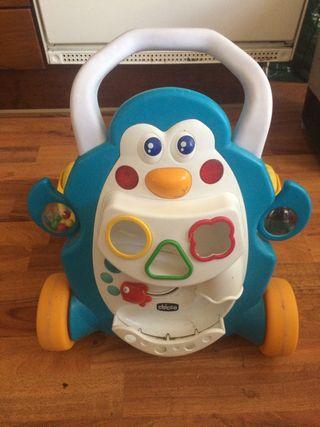 Andador bebé con música