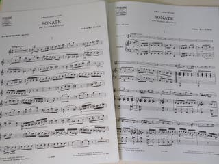 Sonata para Saxo Alto y Piano