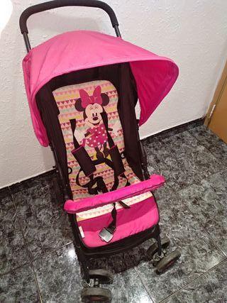 silla de paseo de la Minnie