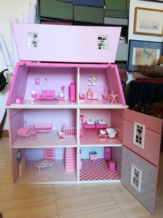Casa muñecas Hello Kitty grande