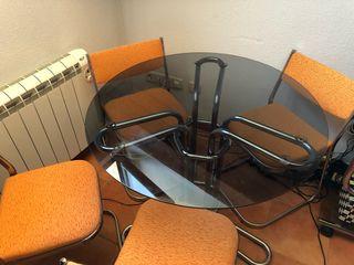 Juego mesa de salón + mueble de la televisión