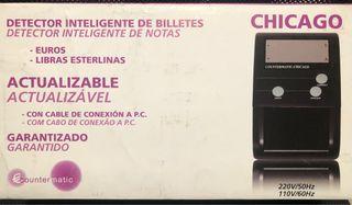 Detector de billetes falsos.