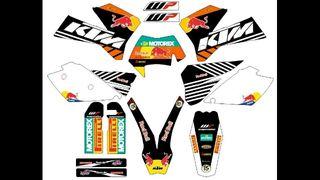 PEGATINAS KTM 2005,2006 Y 2007