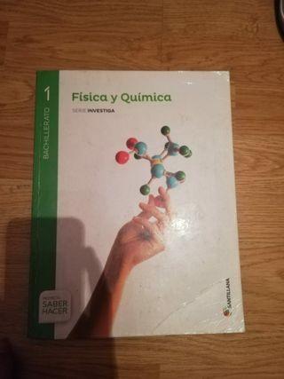 Libro física y química 1° bachillerato