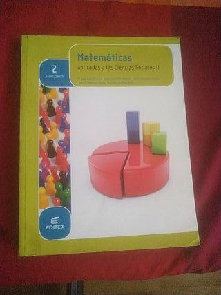 Matemáticas Aplicadas Ciencias Sociales 2°Bach
