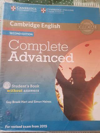 libro ingléscomplete advanced