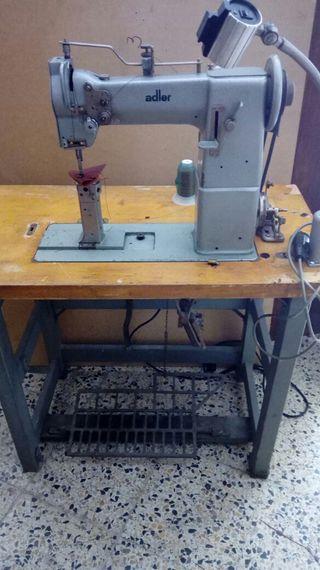 MAQUINA COSER ADLER COLUMNA 068-63 industrial 220V