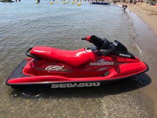 MOTO DE AGUA BOMBARDIER SEA DOO gsx Limited 135cv