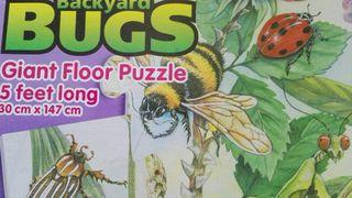 Puzzle gigante de suelo