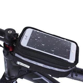 Bolsa bici porta móvil y objetos
