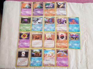 Cartas Pokemon Coleccionables Antiguas