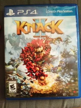 Cambio Knack II para PS4