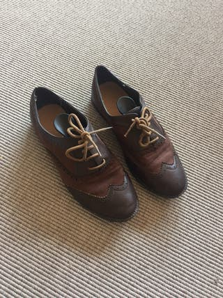 Zapatos oxford mujer 39