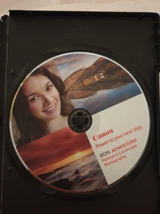 DVD CURSO FOTOGRAFIA CANON
