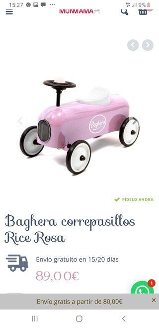 Correpasillos Baghera Rosa Nuevo