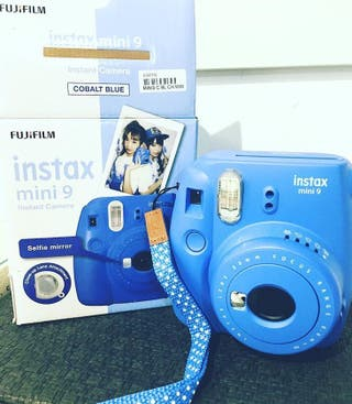 Fujifilm instax mini 9 azul nueva