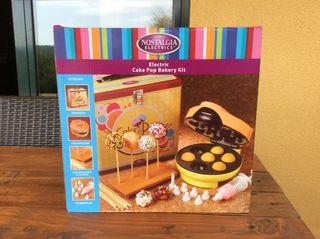 Electric cake pop baking con kit de decoración