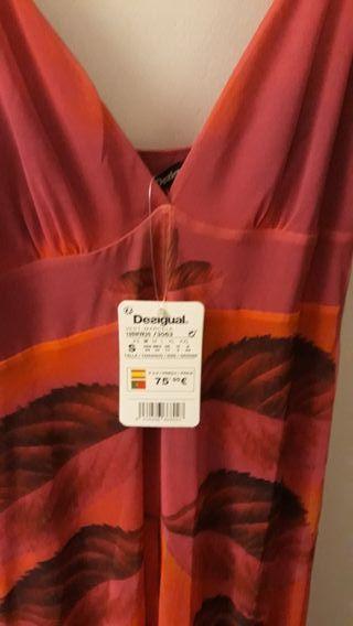 vestido nuevo largo ideal para la playa
