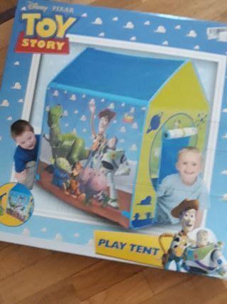 Tienda de campaña de juguete