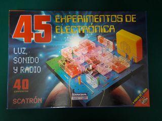Scatrón, juego de electrónica